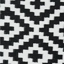 black and white geometric rug pixel outdoor rug in black white back close up black and black and white geometric rug