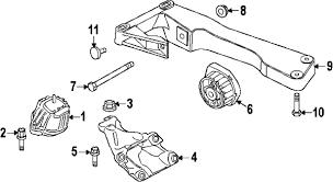 parts com® bmw engine supporting br partnumber 22116784824 2014 bmw 328i base l4 2 liter gas engine trans mounting