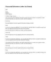 College Recommendation Letter From Family Friend Sample Scholarship Recommendation Template For A Student Personal
