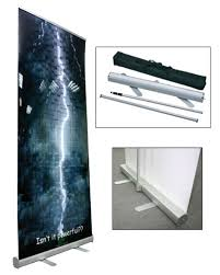Retractable Display Stands Economy Retractable Banner Display Stands The Best Banner 100 25