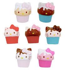 Hello Kitty Cupcake Squishme Japanla