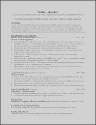 Medical Assistant Resume Examples Singular Medical Assistant Resume