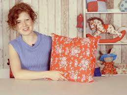 how to make a cushion with a zipper
