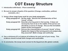 changeovertime overview 4 cot essay