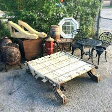 ox cart coffee table giant eastern wood corbels new hydrant riveted metal ore cast iron uk