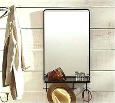 entry mirror with hooks wall mirror with hooks entryway wall mirror with hooks heavy duty mirror