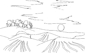 Small Picture Landscapes Coloring Pages
