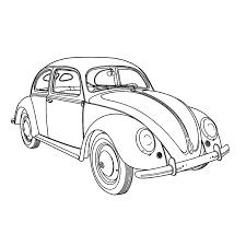 Leuk Voor Kids Kleurplaat Volkswagen Kever Lieve Oma Veel