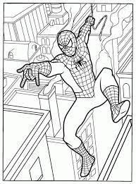 Small Picture Printable Spiderman Coloring Pages 501 Printable Free Spiderman