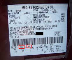 2013 Ford Truck Color Chart Ford Super Duty Paint Codes 2008 2016 Blue Oval Trucks