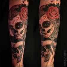 Guivy Art For Sinners Tattoo Geneva Catrina Santa Muerte