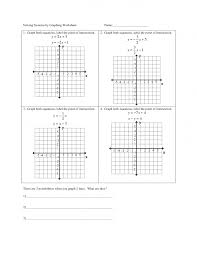 systems of equations graphing worksheets the best image systems worksheet collection down large size