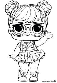 Lol Doll Coloring Pages Coloring Page Free Printable Coloring Pages