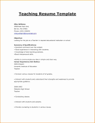Resumes Formates Resumes Formats Lovely 24 Resume Formats For Teachers Resume 19