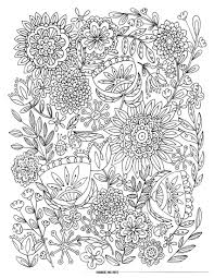Spring Flowersloring Pages To Print Fantastic Image Ideas Flower