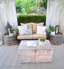 Wine Barrel Furniture Ideas