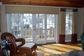 cornice boards for sliding glass doors