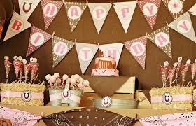 Cowgirl Birthday Decorations Similiar Cowgirl Birthday Keywords