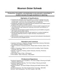 Nurse Educator Resume Nurse Educator Resume Sample Nurse Educator Resume Template