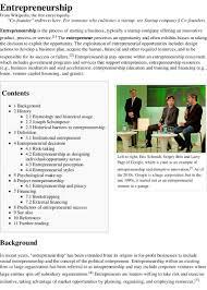 Entrepreneurship Wikipedia The Free Encyclopedia