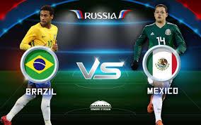 Brazil vs Mexico live