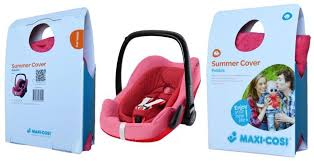 maxi cosi 73708080 pebble plus baby car seat summer cover pink