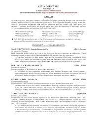 Career Summary Examples Resume Statement Marketing Graphic Design
