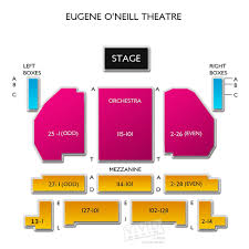 Eugene Oneill Theatre Concert Tickets And Seating View