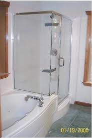 bathtub shower combo one piece bathtub shower combo freestanding jacuzzi tub