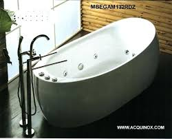 freestanding jacuzzi bathtub oval whirlpool bath tub free standing pertaining to jetted ideas 14