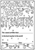 Teacher Appreciation Coloring Pages Free Coloring Pages