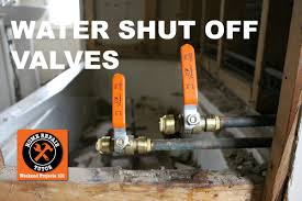 how to install a water shut off valve in a bathroom step by step by home repair tutor you