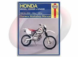 1986 2003 haynes honda xr250l xr250r xr400r repair manual 2219 1986 2003 haynes honda xr250l xr250r xr400r repair manual 2219 shop service