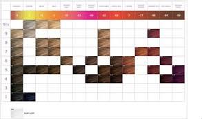 Igora Vibrance Shade Chart Schwarzkopf Toner Chart Google Search Logos Color