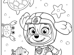 Wonderful Paw Patrol Coloring Skye Flying Pages Printable Chase And