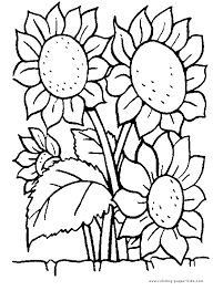 Small Picture flower Page Printable Coloring Sheets page Flowers coloring