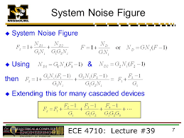 system noise figure system noise figure using then