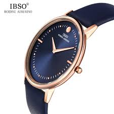 online buy whole mens watch from mens watch whole rs ibso 2016 7 5mm ultra thin dial mens watches top brand luxury genuine leather strap