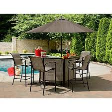 Garden Oasis East Point 5 Pc Bar Set