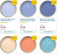 Wickes Paint Chart Wickes Paint Sale Wickes Black Friday Sale November 2019