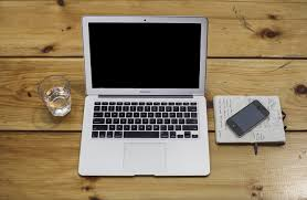 hd wallpapers office. MacBook Pro And Black IPhone 5 On Brown Wooden Table HD Wallpaper Hd Wallpapers Office S