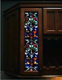 kitchen cabinets with stained glass inserts for interior doors