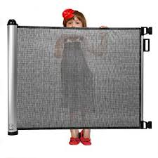Amazon.com : Retractable Baby Gate - Extra Wide Baby Safety Gate and ...