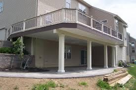 Deck Designs With Storage Underneath Deck Porches Deck Screen Rooms Storage And Options Under