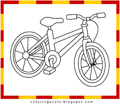 Small Picture Coloring Pages Printable for kids Bicycle coloring pages for kids