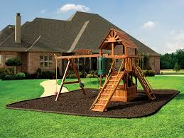 Awesome Collection Of Rubber Mulch Playground Mulch Rubberific and Nuplay  Recycled About Backyard Playground Ideas
