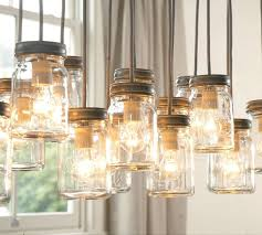 cottage mason jar chandelier. The Popularity Of Mason Jars In Recent Years Has Led To Some Really Creative Projects, Particularly With As Light Fixtures. Cottage Jar Chandelier I