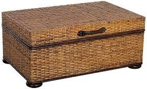 marvelous wicker storage coffee table wicker storage trunk coffee table