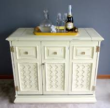 jasper cabinet co vintage bar painted in annie sloan cream anniesloan