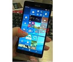 microsoft lumia 950. newer photo of microsoft lumia 950 xl reveals front display, smaller bezel o